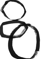 Brushstroke Circles I Fine Art Print