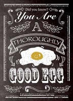 Good Egg Fine Art Print