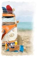 Beach Fun Fine Art Print