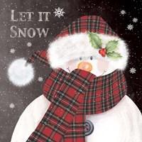 Let It Snow 3 Fine Art Print