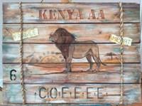 Kenya AA Coffee Fine Art Print