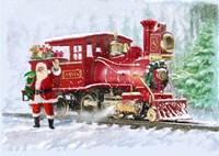 Christmas Train Fine Art Print