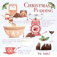 Christmas Pudding 1 Fine Art Print