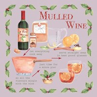 Mulled Wine Christmas Framed Print
