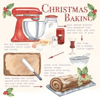 Christmas Baking Framed Print