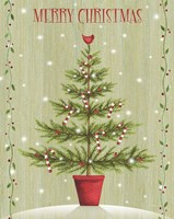 Merry Christmas - Tree Fine Art Print