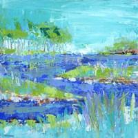 Blue Series Inspiring Fine Art Print