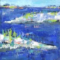 Blue Series Peaceful Fine Art Print