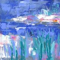 Blue Series Quiet Fine Art Print