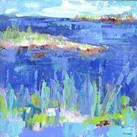 Blue Series Serene Fine Art Print