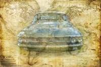 Vintage Mercury Fine Art Print