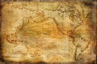 Vintage Map II Fine Art Print