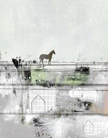 The Brown Horse Fine Art Print