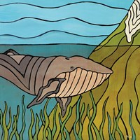 Whale in the Bay Fine Art Print