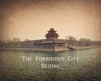 Vintage The Forbidden City in Beijing, China, Asia Fine Art Print