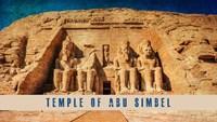 Vintage Temple of Abu Simbel, Nubia, Egypt, Africa Fine Art Print