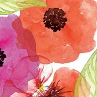Vibrant Floral IV Framed Print