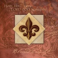 Blessed Trinity Fine Art Print