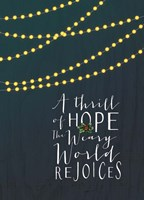 Thrill of Hope Fine Art Print