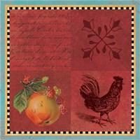Rooster Deux Fine Art Print