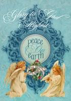 Peace on Earth Angels Fine Art Print