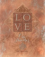 Tuscan Love One Another Fine Art Print