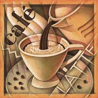 Cappuccino & Cafe A Framed Print