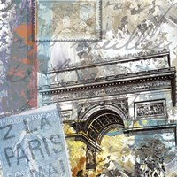 Paris Arc Fine Art Print