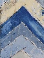 Blue Zag II Fine Art Print