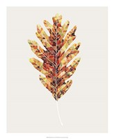 Fall Mosaic Leaf I Fine Art Print