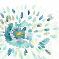 Starburst Floral I Framed Print