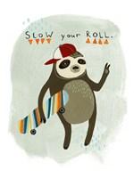 Hipster Sloth I Fine Art Print