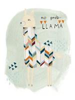 Llama Squad I Framed Print