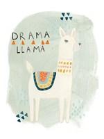 Llama Squad II Fine Art Print