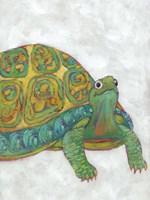 Turtle Friends I Framed Print