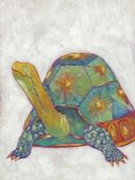 Turtle Friends II Framed Print