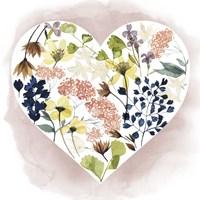 Love Floral II Framed Print