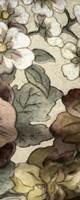 Earthtone Floral Panel III Fine Art Print