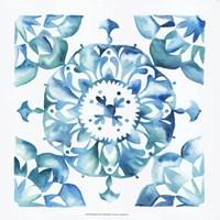 Meditation Tiles I Framed Print