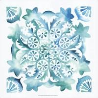 Meditation Tiles II Framed Print