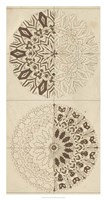 Sacred Geometry Sketch I Framed Print