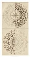 Sacred Geometry Sketch II Framed Print