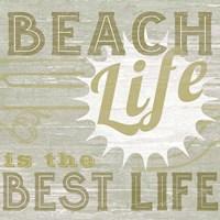 A Little Beachy II Framed Print