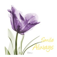 Smile Always Tulip Fine Art Print