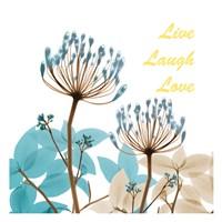 Blue Desert Bloom 1 Fine Art Print