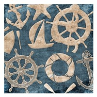 Sea Icons Fine Art Print