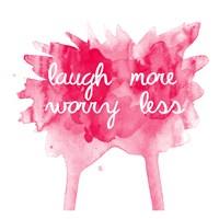 Worry Less Fine Art Print