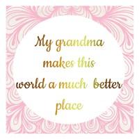Grandmas World Fine Art Print