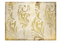 Golden Wine Framed Print