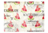 Watermelon Summer 2 Fine Art Print